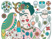 Story of Frida Kahlo & Diego Rivera - Frida