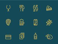 Chiringuito Los Leones Icons