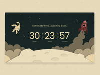 Countdown timer - Daily UI challenge #014