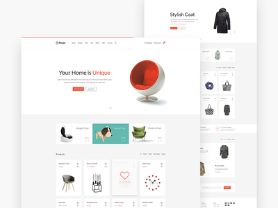 Shopy - Online Shop Theme wordpress psdehat minimal shopping store fashion woocommerce ecommerce online market shop