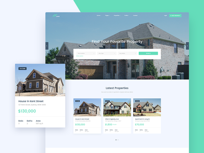 Land - Real Estate Website