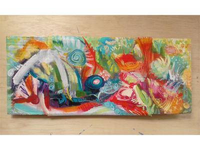 Ilha dos prazeres mato mata atlantica nature natureza arte paisagem pintura tulio fagim art painting