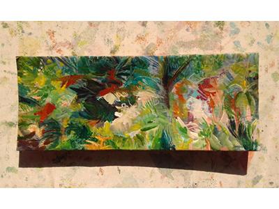 Paisagem 9884 mato mata atlantica nature natureza arte paisagem pintura tulio fagim art painting