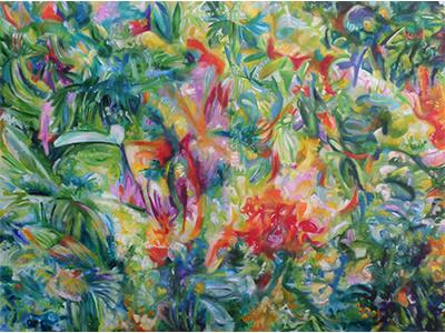 Paisagem 8639 mato mata atlantica nature natureza arte paisagem pintura tulio fagim art painting