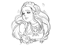 Warm Up Zelda Sketch