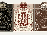 High West Whiskey Labels