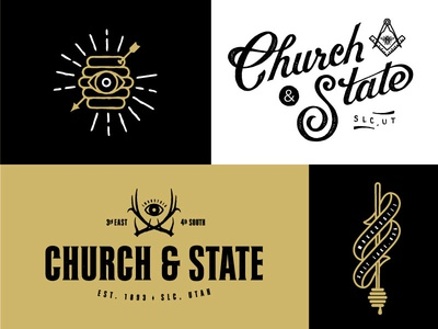 Church & State Branding