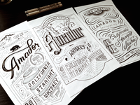 Whiskey Label Designs