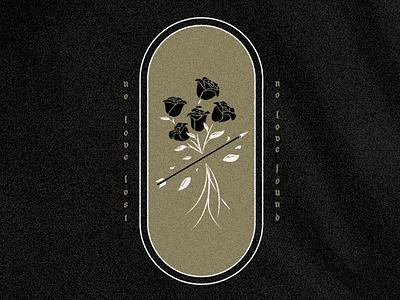 2 of 6 arrow grain texture roses illustration