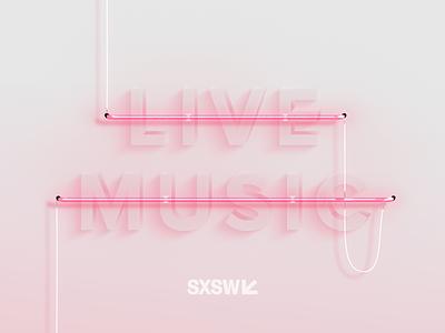 SXSW music glow lights austin sxsw neon