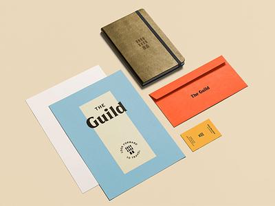 The Guild Hotels - Part 1 identity ux ui web design envelopes business cards travel hotel design branding