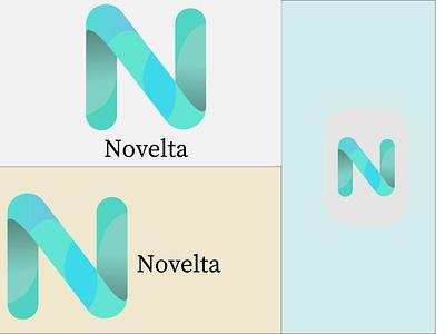 N abstract letter logo golden ratio golden ux vector illustration icon design app branding graphic design ui logo