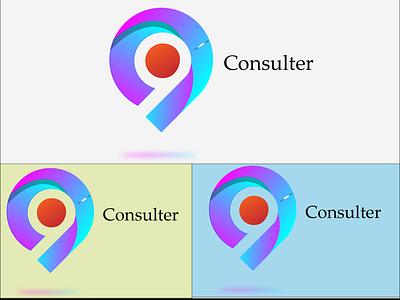 Consulter abstract logo ui illustration icon graphic design golden ratio golden app design branding logo