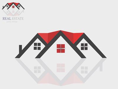 Real Estate logo design ui vector logo illustration icon graphic design golden ratio golden design branding real estate logo