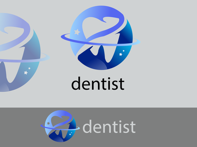 Dentist logo design motion graphics animation logocreator logodesign logomaker vector logo design illustration graphic design branding dentist logo