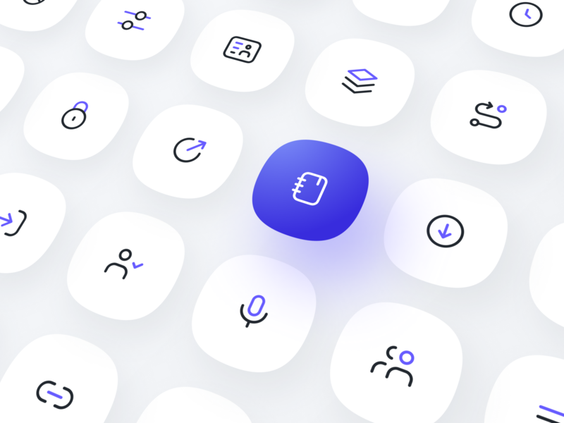 Leverege Design System: Icons iot figma pack kit line outlined linear ux ui system design icons