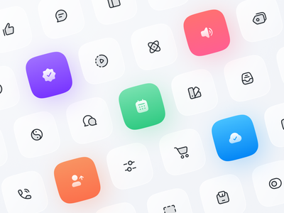 Anron Icons: Duotone Style duotone filled linear iconpack iconset set icons component pack icon iconjar library figma