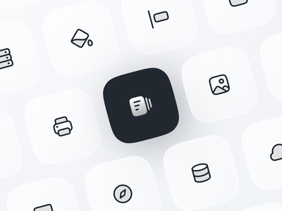 Anron Icons: Dutotone Style duotone filled linear icons design app ui iconography set pack iconpack iconset icondesign icon library figma