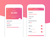 Financial Savings App