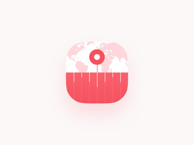 Time Zone App Icon by Anton Lapko on Dribbble