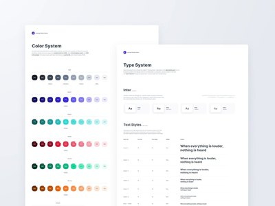 Leverege Design System: Colors & Typography typography colors after effects animation figma library system design system styleguide design ux ui