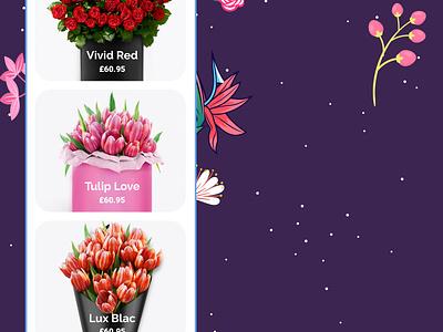 FIORELLO - Featured flowershop organic fiorello flowers cms component hero product design product ecommerce ux ui