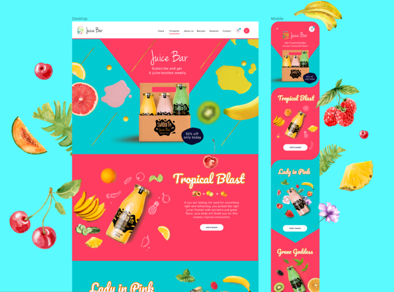 🍓Yummy Yummy 🍓 ios shop fruit vegetables ecommerce basket illustraion webdesign app fit juice vegan food vegan diet healthy uiux ui product design chart product
