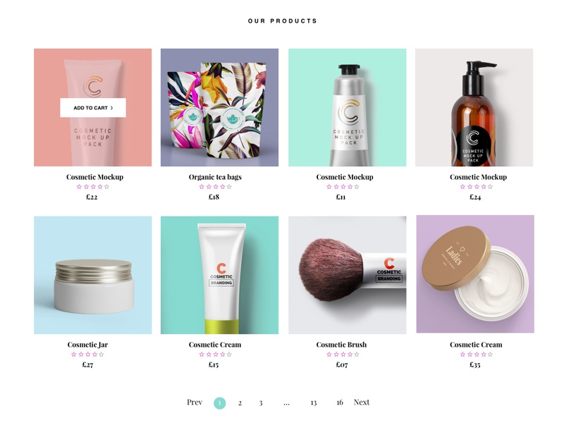 Product Gallery 1 checkout cart pagination ecommerce ui ux product design product gallery