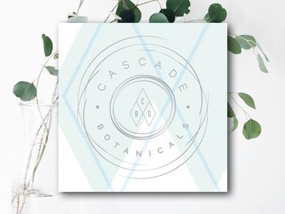 Cascade Botanicals identity brand logo