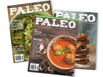 Paleo Magazine design magazine
