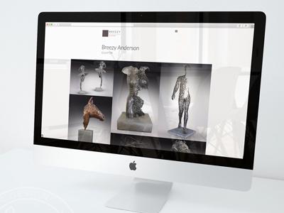 Katemillerdesign Breezyanderson Web development wordpress design website custom