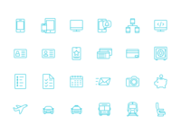 Travel App Icons