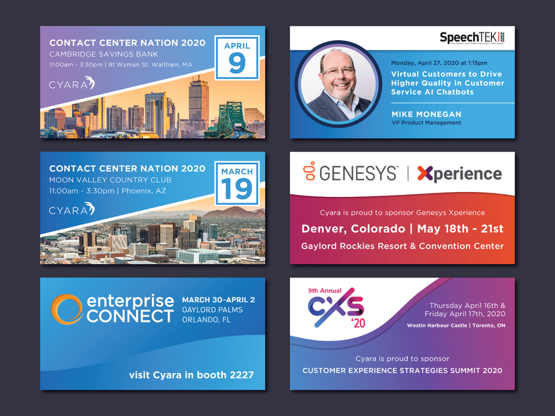 Social Tiles for Cyara social web typography branding design vector