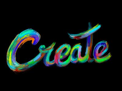 Create branding design text create