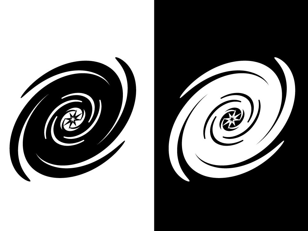 Galaxy logo concept #1 icon illustration logo app ui vector design branding