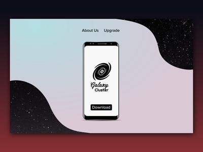 Landing Page website web desktop dailyui logo mobile app ux typography ui vector design branding dailyui 003