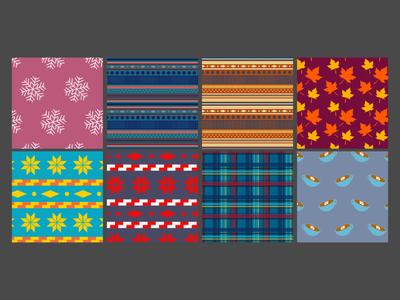 Winter & Fall patterns