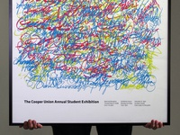 Cooper Union Annual Student Exhibition Poster