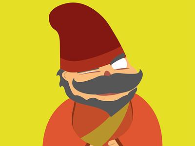 Hum! graphic design flat character illustration design