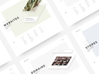 Squarespace Design Exploration