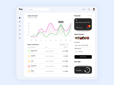 "Payment Dashboard Light Mode ""Clean"" design top clean ui8 cuberto follow like lightmode glassmorphism app popular webdesign ux ui"