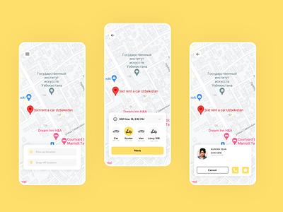 Delivery App Concept designer usa follow like ui8 cuberto dribbble design darkmode clean app popular webdesign ux ui