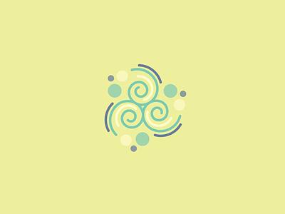 Triskele (13/365) daily design design series icon design swirl icon ireland celtic design celtic irish triskele