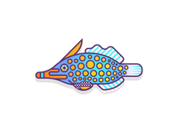 Orange Spotted Filefish (61/365)