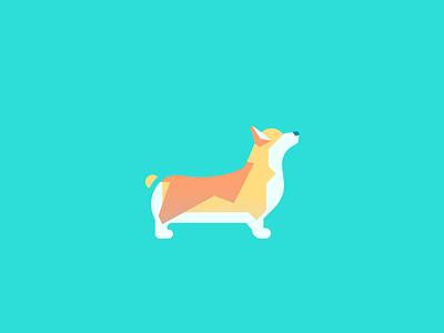 Corgi (91/365) pet design series daily design cute pupper doggo illustration puppy dog corgi