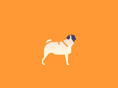 Pug (92/365) cute but still ugly pet design series daily design pugs pupper doggo illustration puppy dog pug