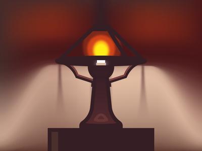 Bean Pot Lamp (137/365)