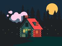 Cabin Home (146/365)