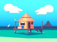 Stilt Home (149/365)
