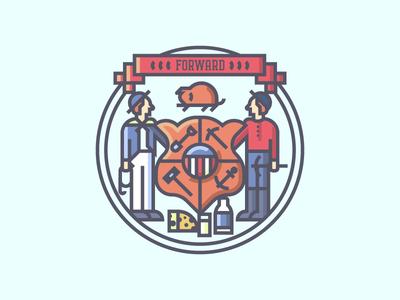 Wisconsin Crest (270/365)